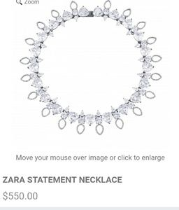 ISO NOir Zara statement necklace